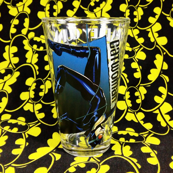 Buy Glassware Catwoman DC Universe Batman Cup merchandise collectibles