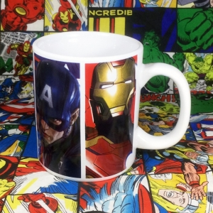 Buy Ceramic Mug Civil War Avengers Cup merchandise collectibles