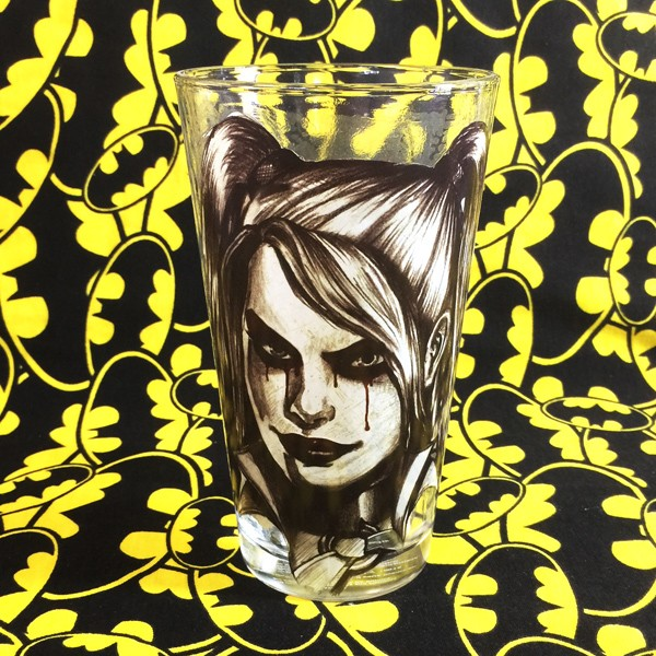 Buy Glassware Harley Quinn DC Cup merchandise collectibles