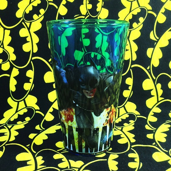 Buy Glassware Bale's Batman Dark Knight Cup merchandise collectibles
