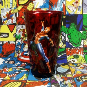 Buy Glassware Spider man Web Warriors Universe Cup merchandise collectibles