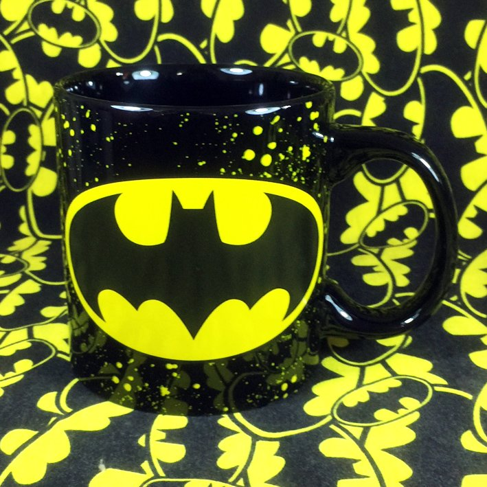 Buy Ceramic Mug Batman Classic Logo DC Cup merchandise collectibles