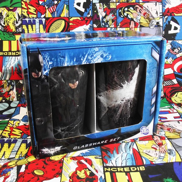 Buy Glassware Set Batman dark knight Nolan Cup merchandise collectibles