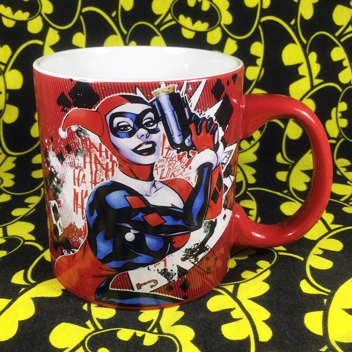 Buy Ceramic Mug Harley Quinn Cup merchandise collectibles