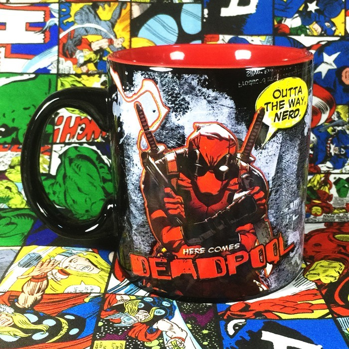 Buy Ceramic Mug Deadpool Comics Series Cup merchandise collectibles