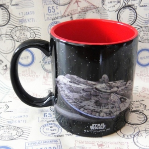 Buy Ceramic Mug Star Wars millenium falcon Cup merchandise collectibles