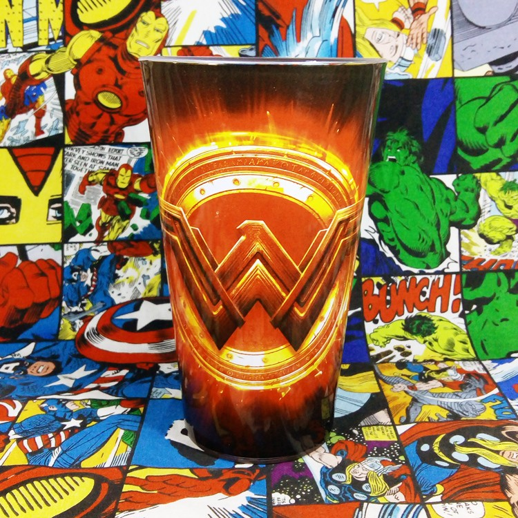 Buy Glassware Wonder Woman Logo Cup merchandise collectibles