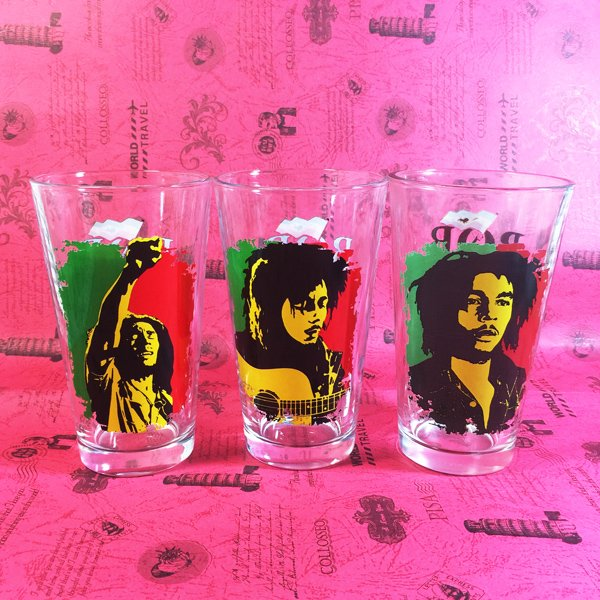 Buy Glassware Glasswarees Set Bob Marley Cup merchandise collectibles