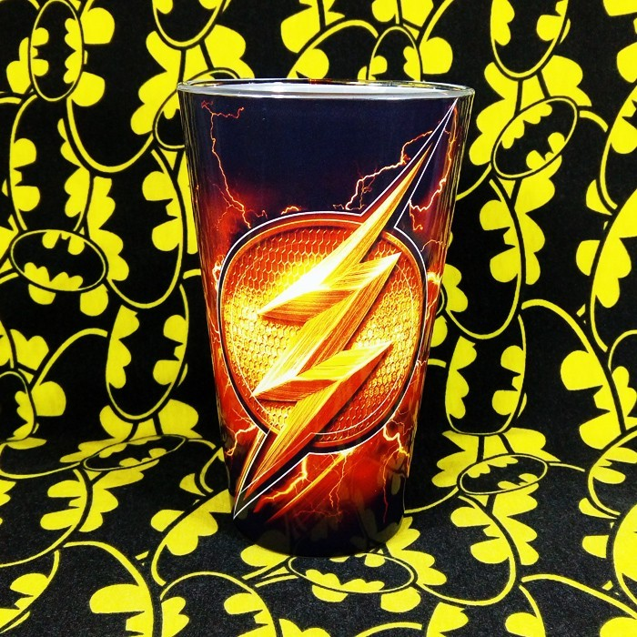 Buy Glassware Flash Logo DC Bary Allen Cup merchandise collectibles