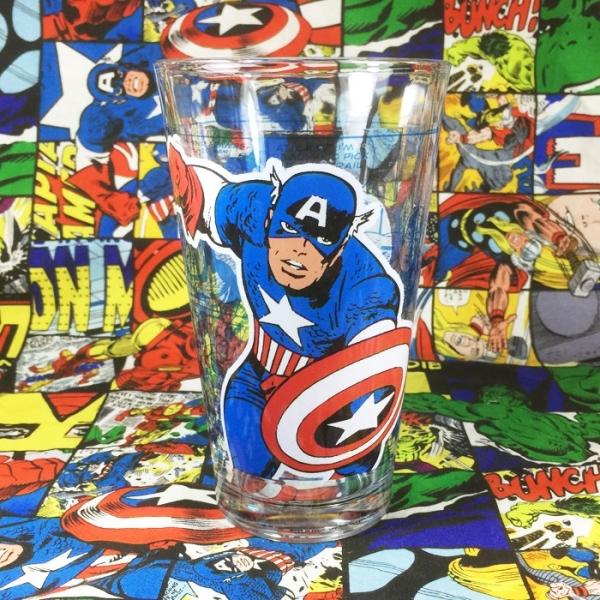 Buy Glassware Captain America Marvel Cup merchandise collectibles