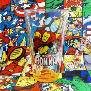 Buy Glassware Comics Iron Man Avengers Cup Merchandise collectibles