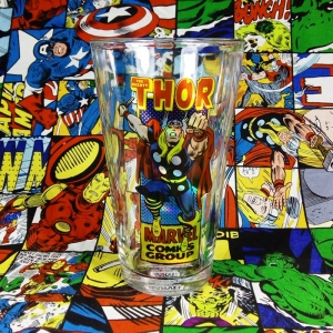 Buy Glassware Thor Marvel Comics Classic Art Cup merchandise collectibles