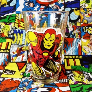 Buy Glassware Iron Man Avengers Cup Merchandise collectibles