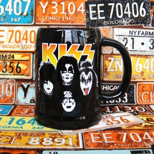 Buy Ceramic Mug Kiss Band Glam Rock Cup merchandise collectibles