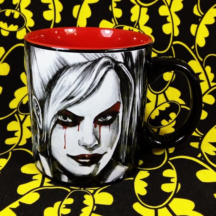 Buy Ceramic Mug Harley Quinn DC Cup merchandise collectibles