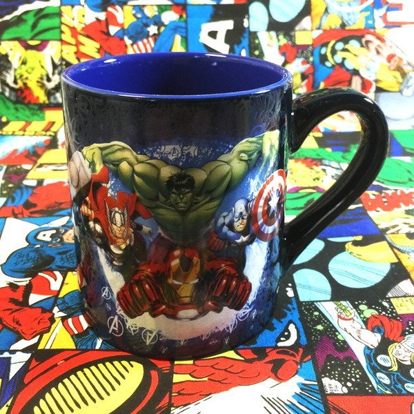 Buy Ceramic Mug Cartoon Avengers Marvel Cup merchandise collectibles