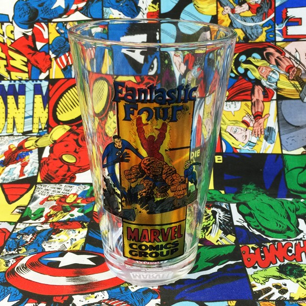 Buy Glassware Fantastic Four Classic Cup merchandise collectibles