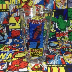 Buy Glassware Amazing Spider man Comic Cup merchandise collectibles