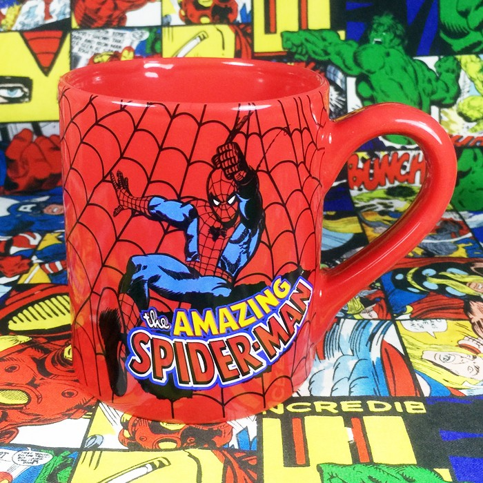 Buy Ceramic Mug Classic Spider man Cup merchandise collectibles