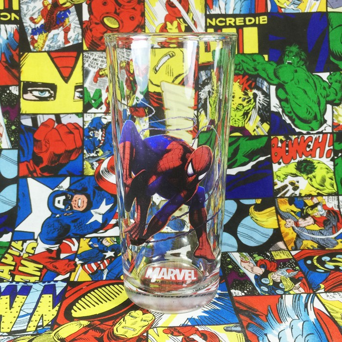 Buy Glassware Spider man Peter Parker Cup merchandise collectibles