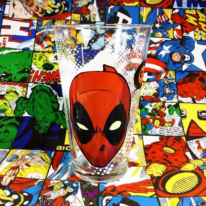 Buy Glassware Deadpool Head 2018 Cup merchandise collectibles