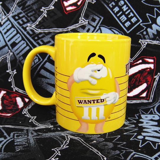 Buy Ceramic Mug M&M's Yellow He Male Cup merchandise collectibles