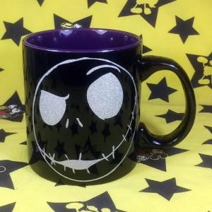 Buy Dark Mug Jack Skellington Tim Burton Cup merchandise collectibles