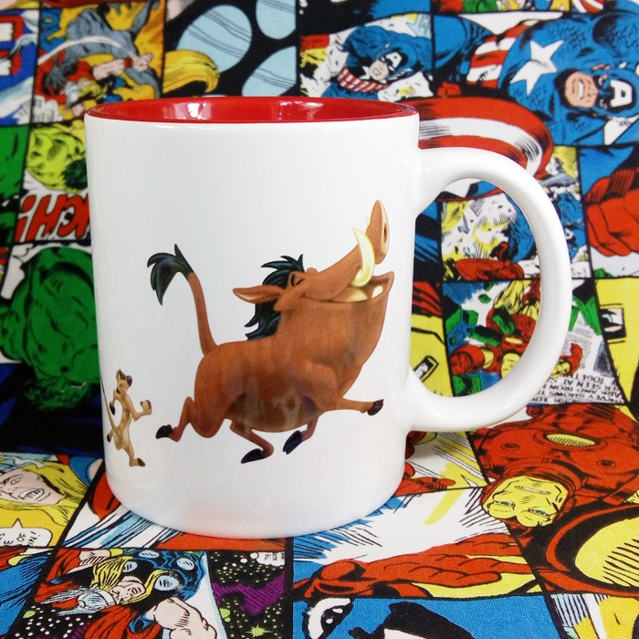 Buy Ceramic Mug Timon & Pumba Disney Cup merchandise collectibles