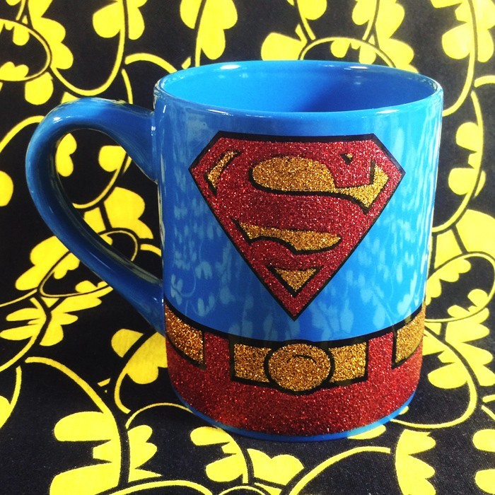 Buy Ceramic Mug Superman Logo DC Cup merchandise collectibles