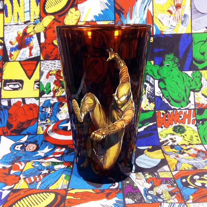 Buy Glassware Web Warriors Spider man Cup merchandise collectibles