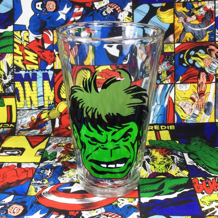 Buy Glassware Incredible Hulk Cup Merchandise collectibles