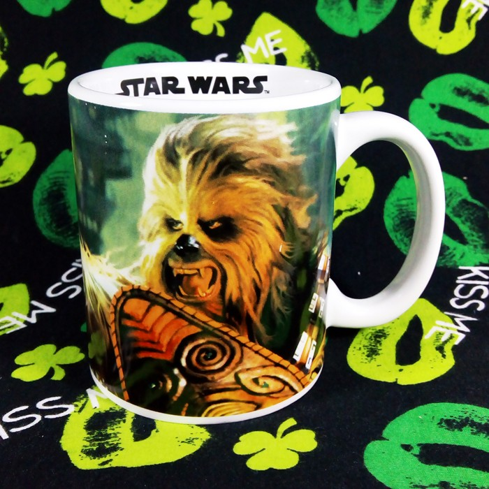 Buy Ceramic Mug Star Wars Chewbacca Cup merchandise collectibles