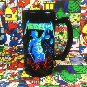 Buy Ceramic Mug Metallica And Justice For All Cup merchandise collectibles