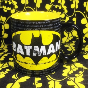 Buy Ceramic Mug Batman Yellow Classic Logo Cup merchandise collectibles