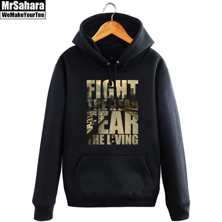 Merchandise Hoodie Walking Dead Fight The Dead Fear Pullover