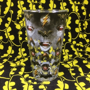 Buy Glassware Justice League Logos Cup merchandise collectibles