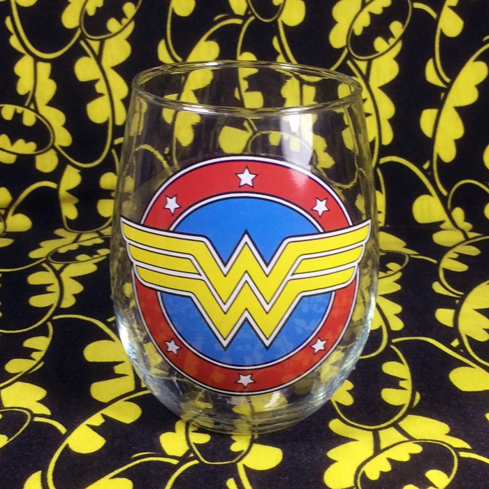 Buy Whiskey Glass Wonder Woman DC Cup merchandise collectibles