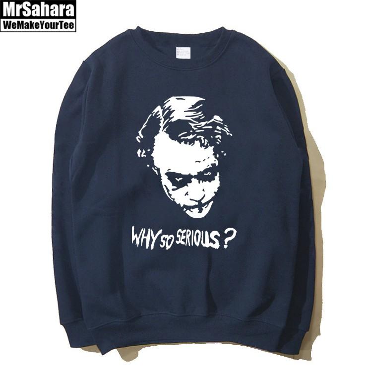 Collectibles Sweatshirt Joker Why So Serious? Batman Nolan'S