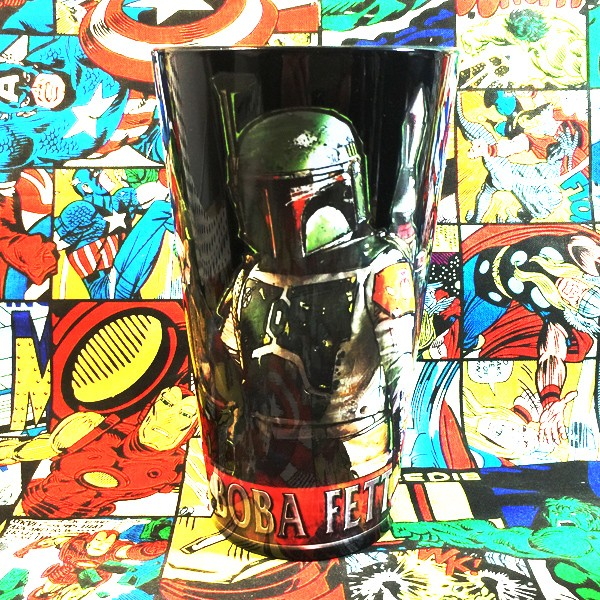 Buy Glassware Boba Fett Star Wars Cup merchandise collectibles