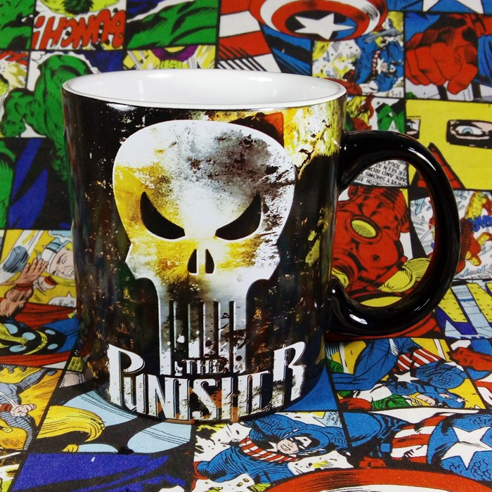 Buy Ceramic Mug Punisher Marvel Cup merchandise collectibles