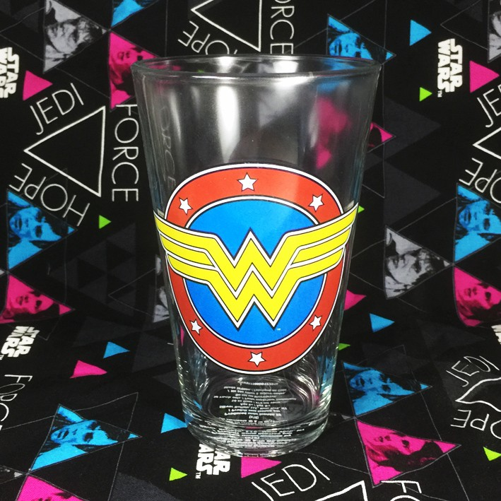 Buy Glassware Wonder Woman Classic Logo Cup merchandise collectibles