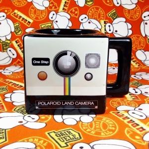 Collectibles Ceramic Mug Polaroid Camera Old School Cup