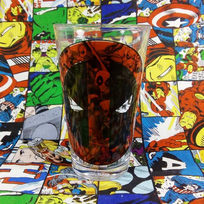 Buy Glassware Deadpool Logo 2018 Cup merchandise collectibles