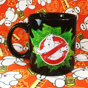 Buy Ceramic Mug Ghostbusters Logo Main Emblem Cup Merchandise collectibles