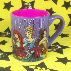 Buy Mug I Woke up like this Disney Princess Cup merchandise collectibles