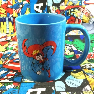 Buy Ceramic Mug Superman Blue Cup merchandise collectibles