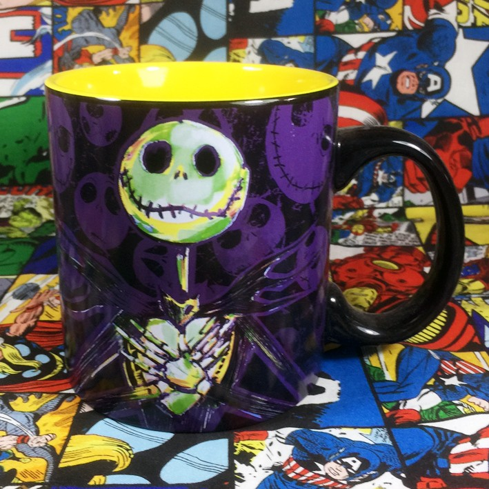 Buy Ceramic Mug Jack Skellington Tim Burton Cup
