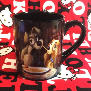 Buy Ceramic Mug Lady and the Tramp Disney Cup Merchandise collectibles