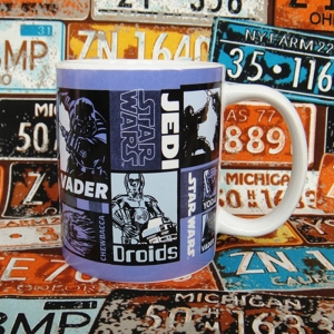 Buy Ceramic Mug Star Wars Comic Movie Cup merchandise collectibles