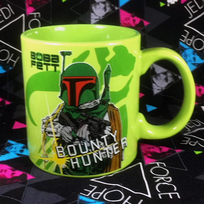 Buy Ceramic Mug Boba Fett Star Wars Cup merchandise collectibles